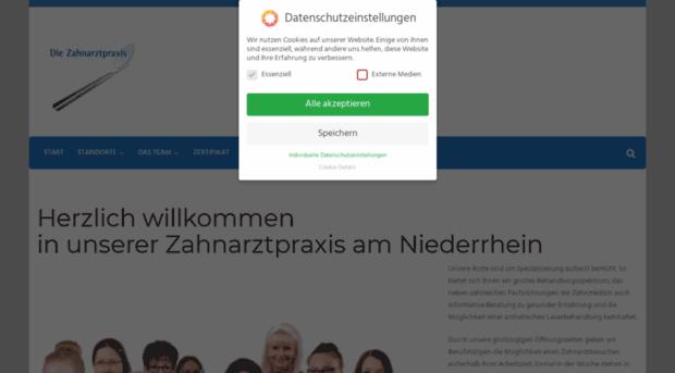 die-zahnarztpraxis-niederrhein.de
