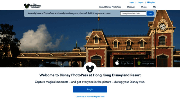 With Disney PhotoPass Service at Disneyland Paris, you can view and share vacation photos taken by Disney PhotoPass Photographers.