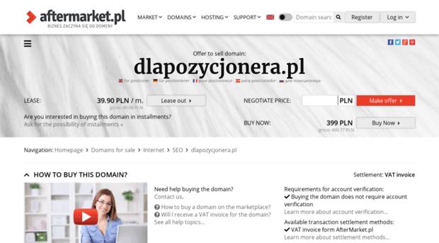 dlapozycjonera.pl