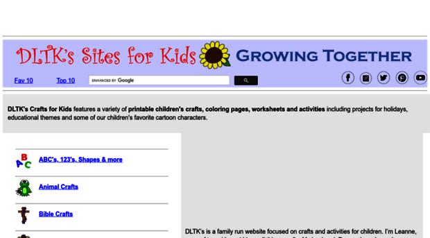 Image Of Dltk Kids Craft Dltks Crafts For Kidsdltk Kids Com