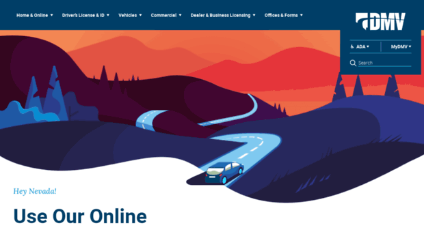 Official nevada department of dmvnv for Nevada motor carrier division