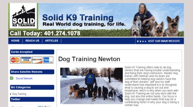 dogtrainingnewton.com