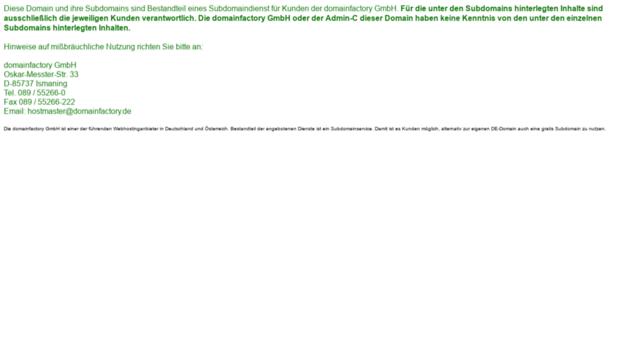 domainfactory-kunde.de