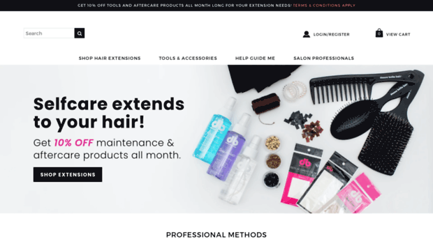 donnabellahairextensions.com