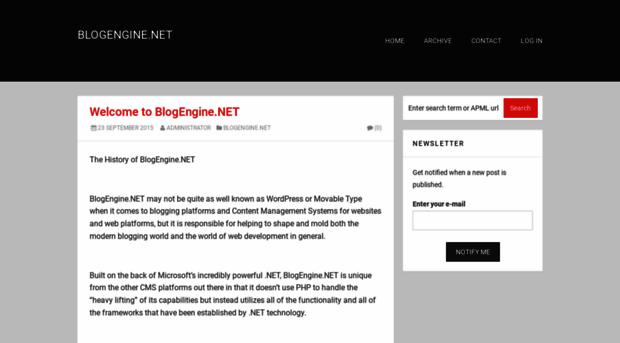 dotnetblogengine.net