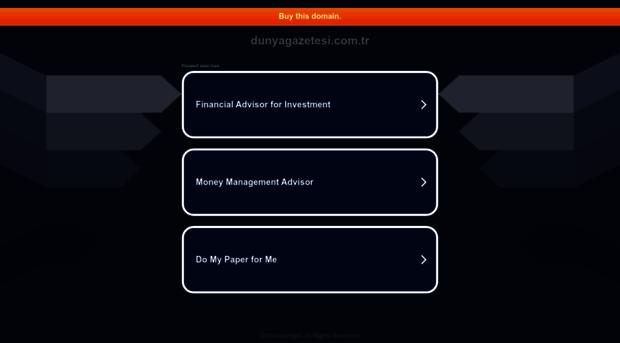 dunyagazetesi.com.tr