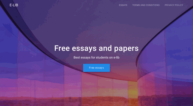 allfreeessays com Free essays, term paper, and book report @ chuckiii's college resources.