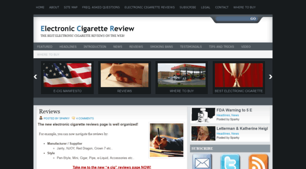electroniccigarettereview.com