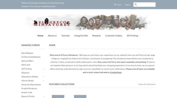 elgrecominiatures.co.uk