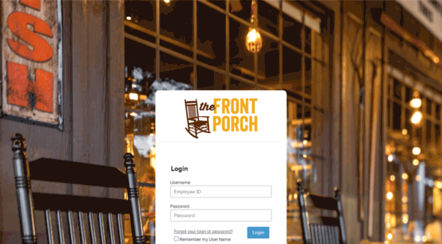 employees crackerbarrel com - The Front Porch - Login