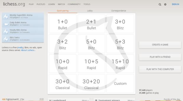 en.lichess.org - lichess.org • Free Online Ches... - En Li Chess