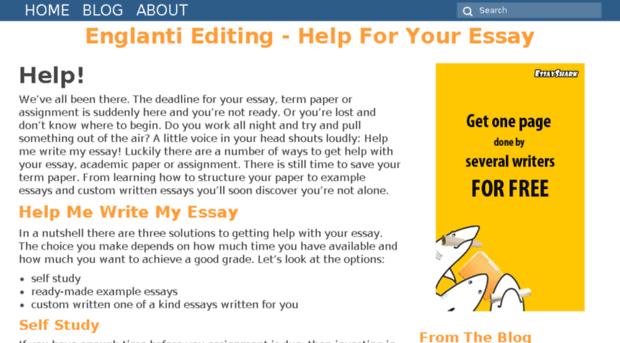 help me essay