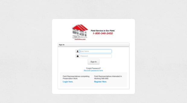 enterprise msionline com - MSI Portal [ Login ] - Enterprise