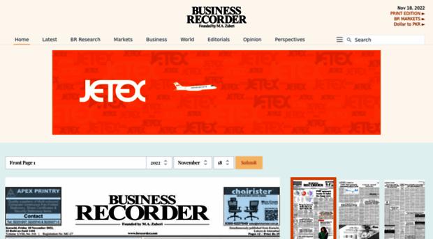 epaper.brecorder.com