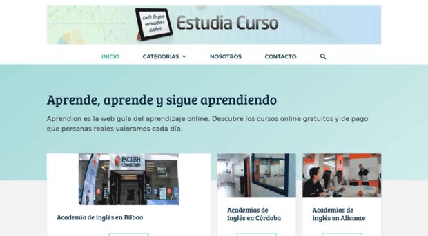 estudiacurso.com