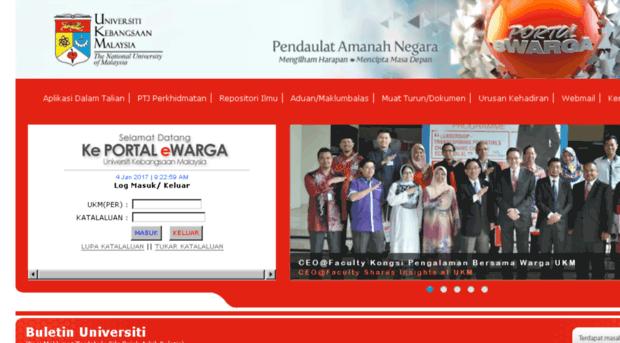Ewarga3 Ukm My Portal Ewarga Universiti Keban Ewarga 3 Ukm