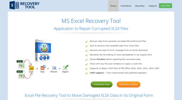 How to recover excel corrupt file in 2010