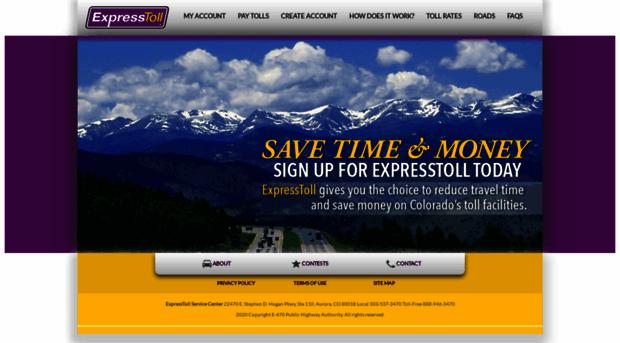 expresstoll.com