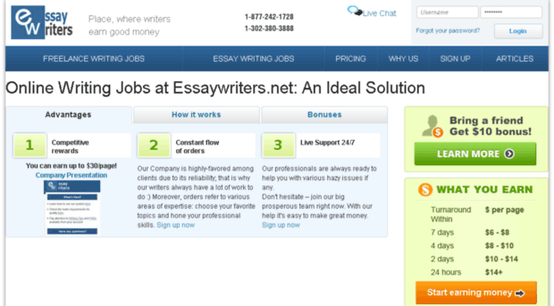 essaywriters.net sign up
