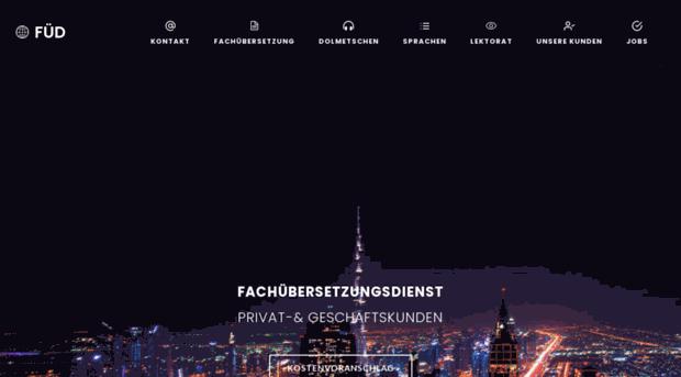 Trust übersetzung Deutsch