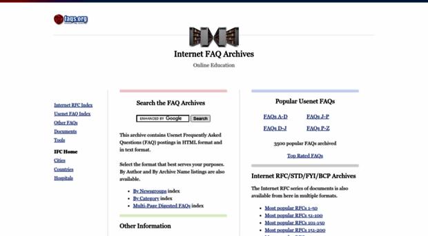 faqs.org