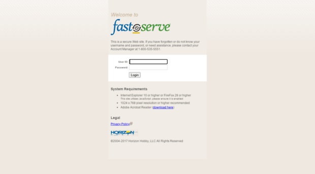 fastserve.horizonhobby.com