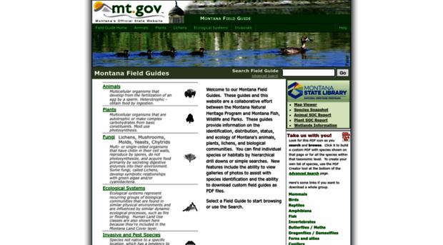 fieldguide.mt.gov