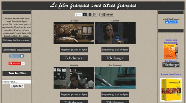 Filmfra Com Les Films Francais Avec Sous T Filmfra