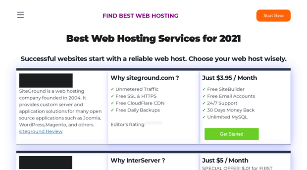 Web Hosting Search Tool, Reviews & More at ...