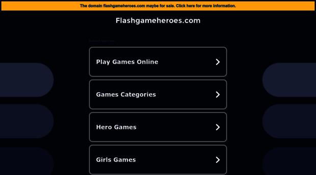 flashgameheroes.com