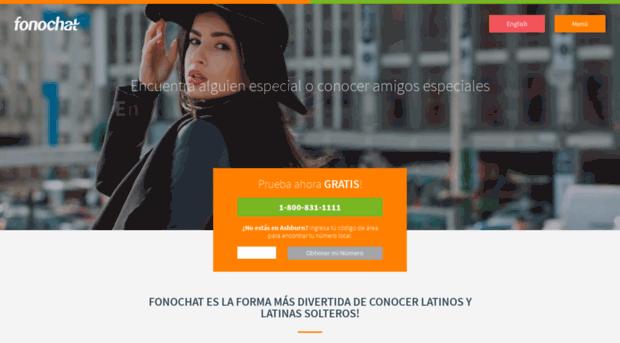 Gratis fono en español chat Números de