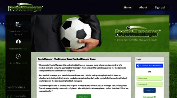 footiemanager.com