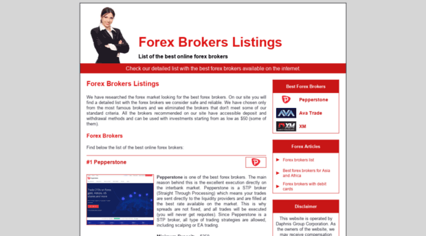 Best united states forex brokers