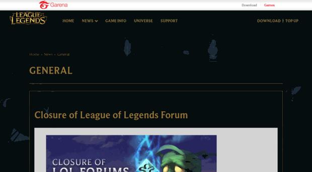 Forum Lol Garena Com League Of Legends Forum Lol Garena