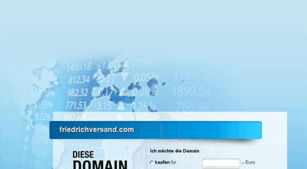 friedrichversand.com