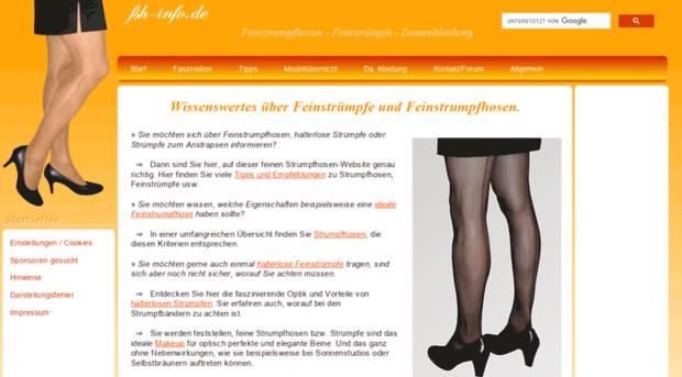 Forum feinstrumpfhose Nadine´s Crossdressing