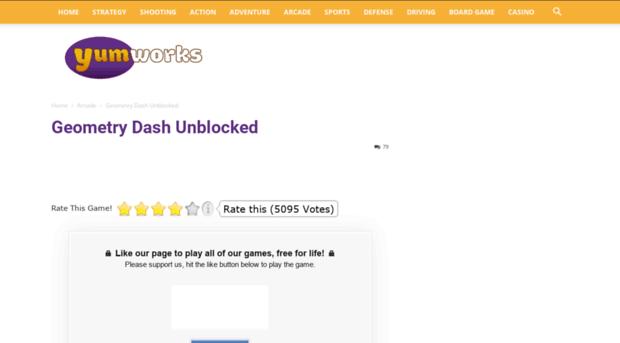 Gdash Yumworks Net Geometry Dash Unblocked Yumw G Dash Yumworks