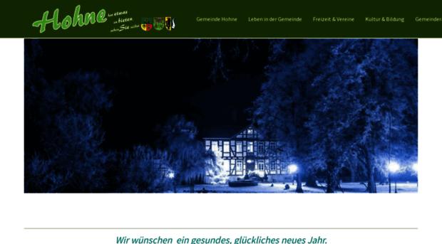 gemeinde-hohne.de