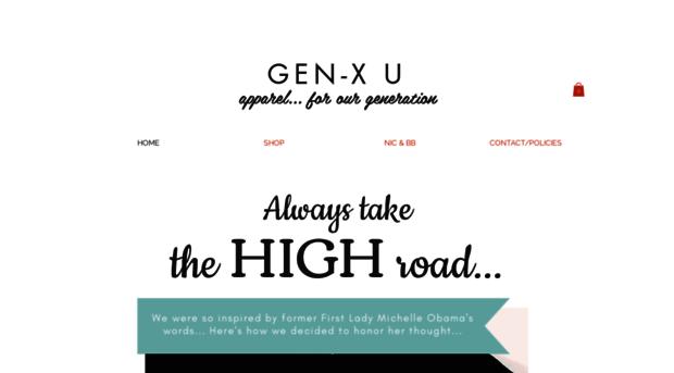 genxuapparel.com