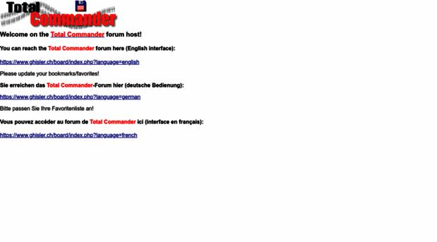 ghisler.ch
