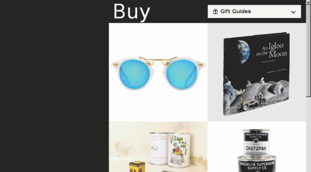 giftguide.coolhunting.com