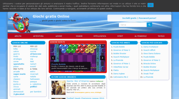 Giochigratis on line