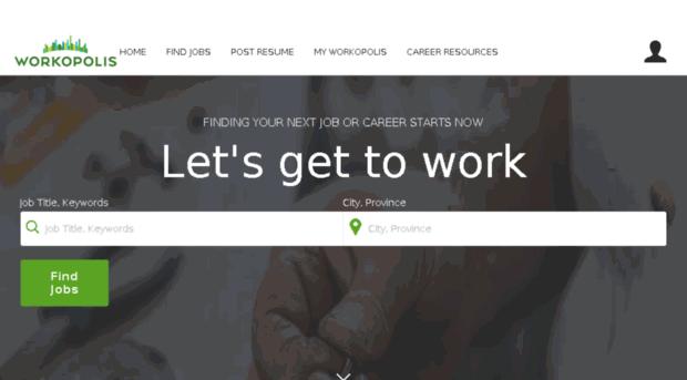 job search canada find your next job workingcom - 620×343