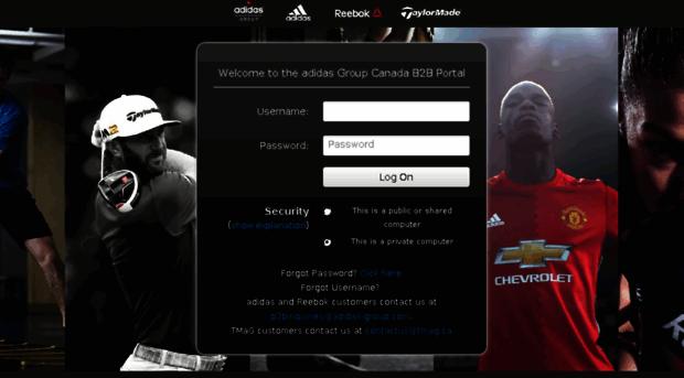 Factibilidad Interminable Escuela de posgrado  go2myportal.adidas-group.com - adidas Group Canada B2B Web Ap... - Go2my Portal  Adidas Group