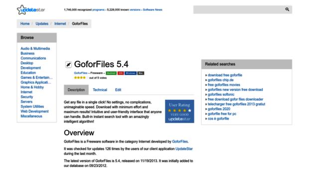 goforfiles.updatestar.com