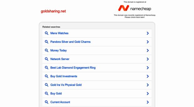 goldsharing.net