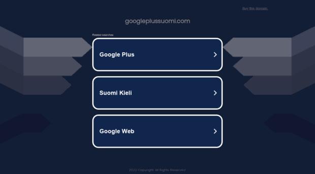 googleplussuomi.com
