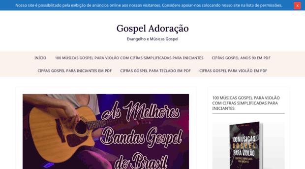 gospeladoracao.net