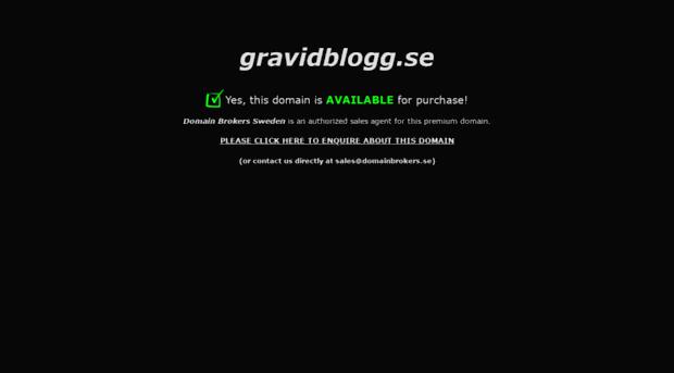 gravidblogg.se