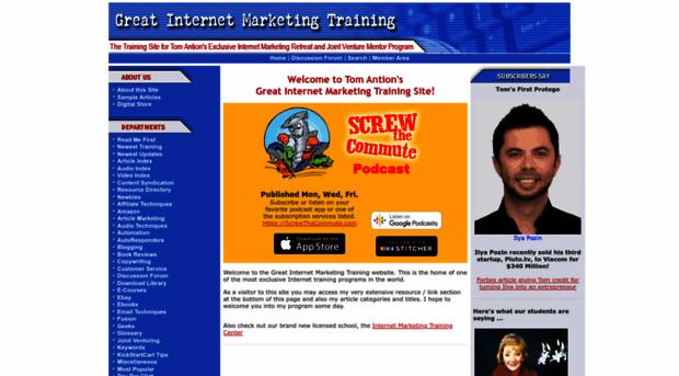 greatinternetmarketingtraining.com